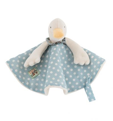 moulin roty - jeanne the duck baby comforter la grande famille