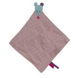 moulin roty - snuggly comforter mouse - les Jolis pas beaux