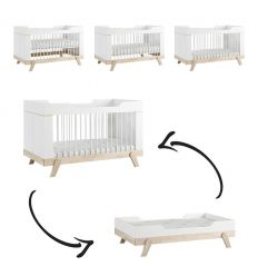 lifetime - convertible cot 3 in 1