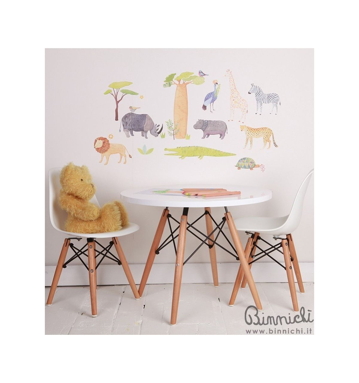 C R Eames Table Design For Kids