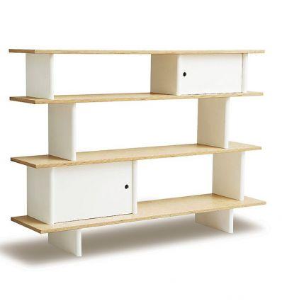 oeuf - mini library (bianco/betulla)