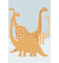 inke - wall print dinosaurus (dino87)