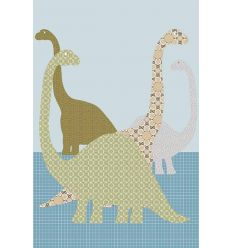 inke - carta da parati pannello dinosauri (dino103)