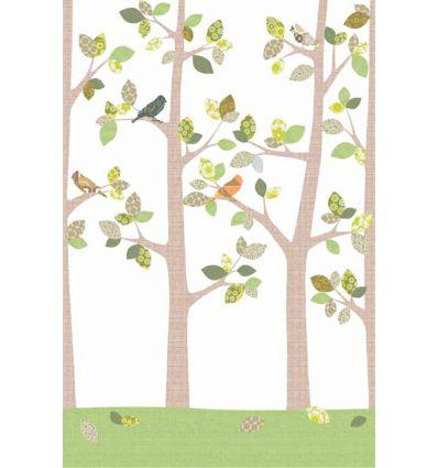 inke - carta da parati pannello alberi (bos sept 126)