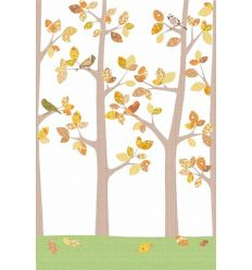 "inke - wall print wallpaper trees ""bos oktber"""
