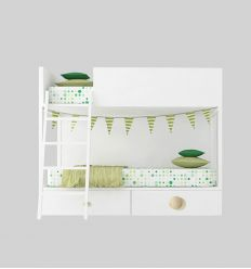 lagrama - bunk bed vagon with drawers