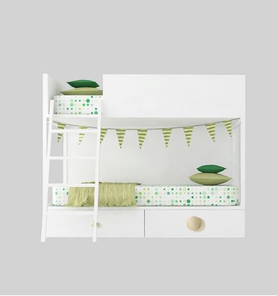 LAGRAMA bunk bed vagon with drawers