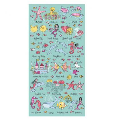 tyrrell katz - towel under the sea
