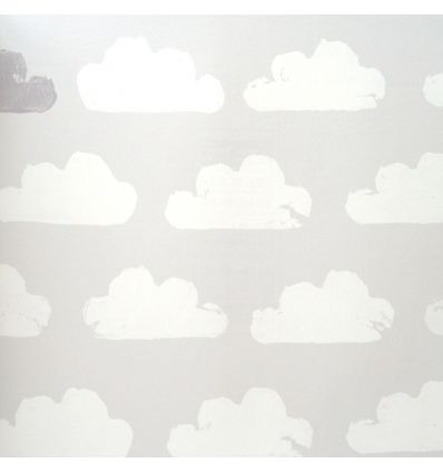 eijffinger - wallpaper clouds (grey/white)