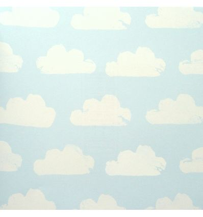 eijffinger - wallpaper clouds (light blue/white)