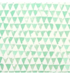 eijffinger - wallpaper triangles (mint green)