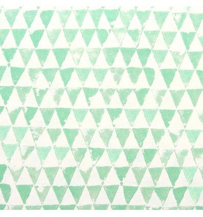 eijffinger - wallpaper triangles (mint green)