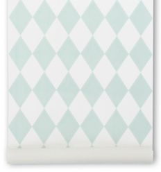 ferm living - wallpaper harlequin (mint)