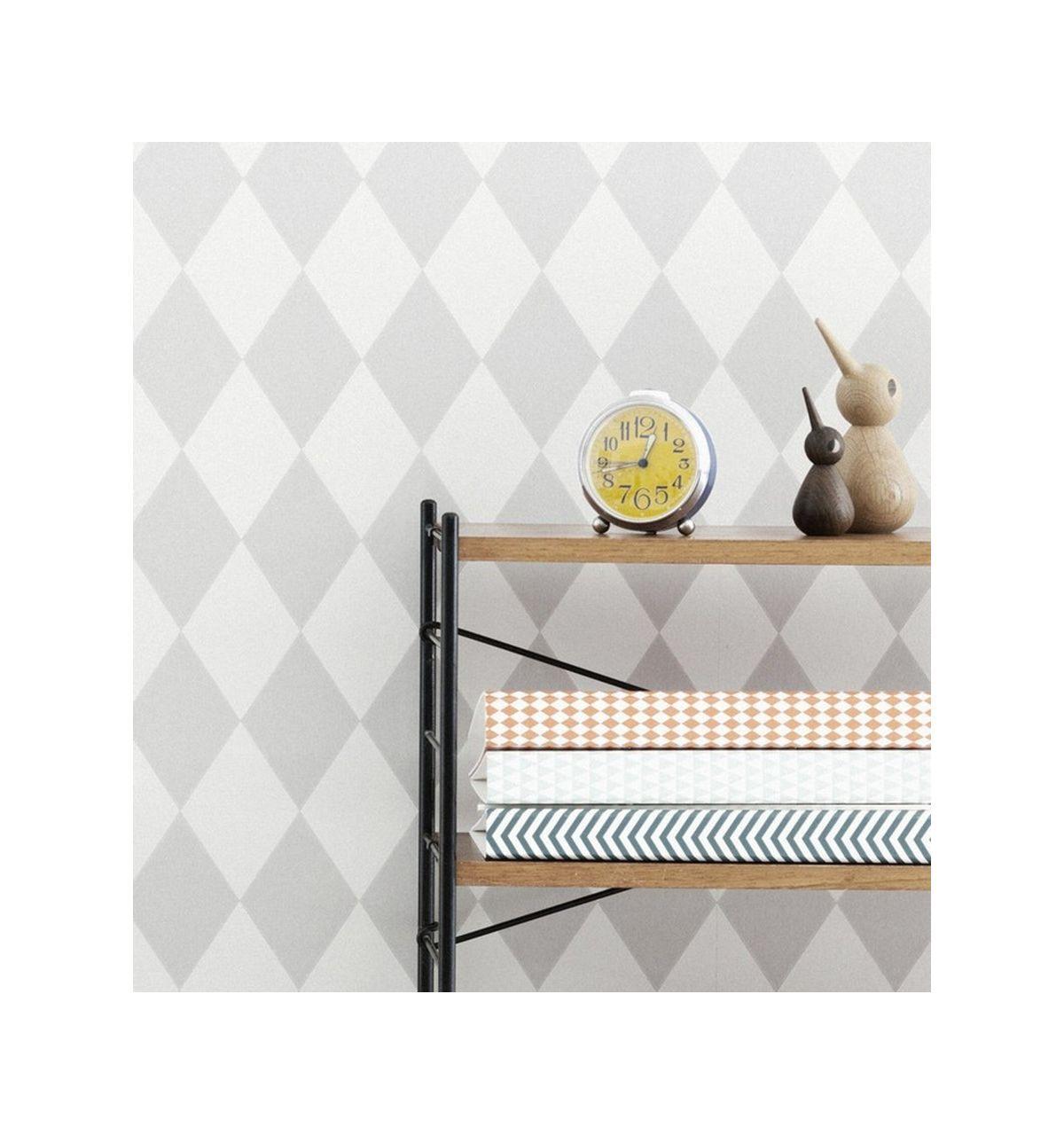 ferm living wallpaper for kids harlequin grey. Black Bedroom Furniture Sets. Home Design Ideas