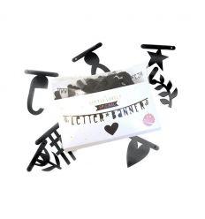 a little lovely company - ghirlanda lettere (nero)
