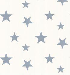 hibou home - carta da parati stelle stars (stellar blue/white)