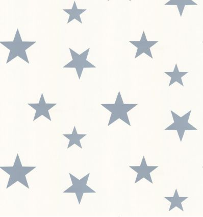 "hibou home - wallpaper ""stars"" (stellar blue/white)"