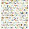 scion - wallpaper letters play (blue/red/mustard)
