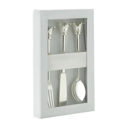 bambam - silver plated cutlery set