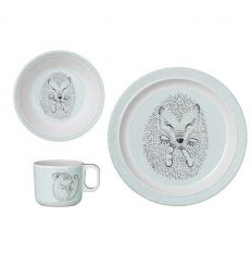 bloomingville - dinner set