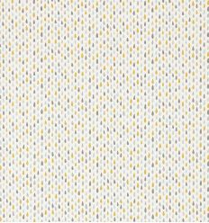 scion - fabric raindrops splish splash (slate/pickle/paper)