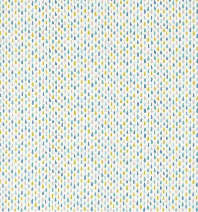 scion - tessuto d'arredo splish splash (blu/oliva/azzurro)