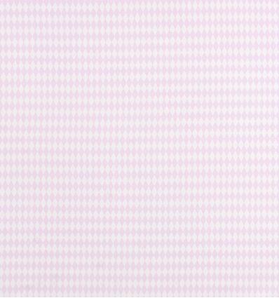 casadeco - tessuto d'arredo a rombi losange (rosa)