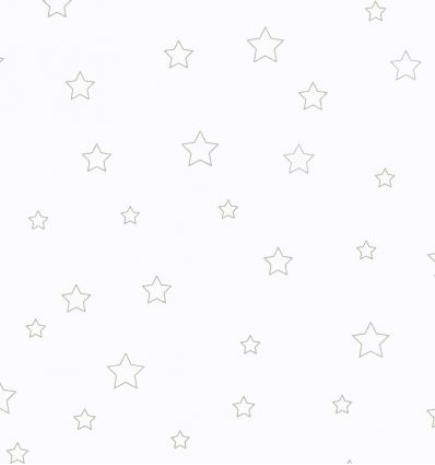 casadeco - curtains fabric stars (grey)