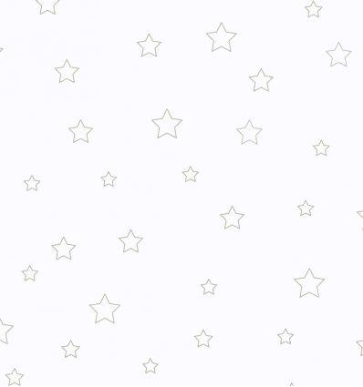 casadeco - tessuto d'arredo per tende stelle etoiles (grigio)