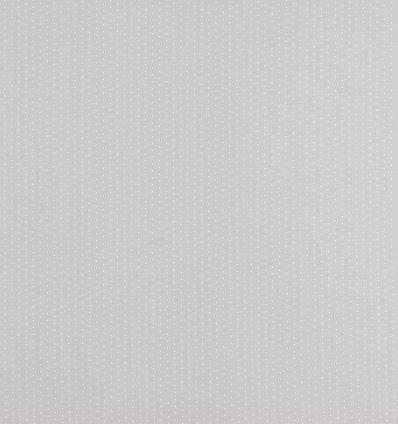 casadeco - tessuto d'arredo pois (grigio)
