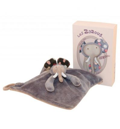 moulin roty - doudou elefante brrouuu les zazous