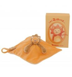 moulin roty - grroou the lion baby comforter les zazous