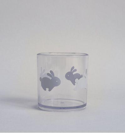 b+b - bicchiere happy bunny