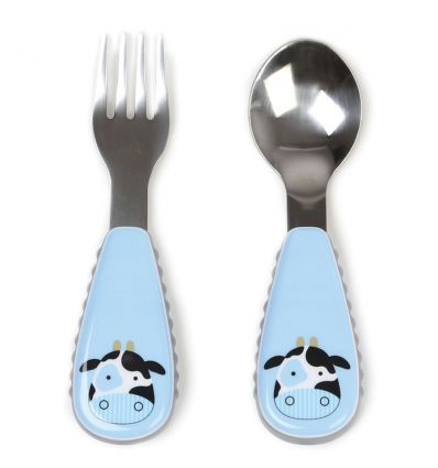 skip hop - fork and spoon cow