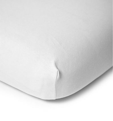 childhome - fitted sheet with corners for cot