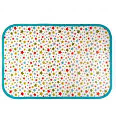 linna morata - placemat stars (light blue)