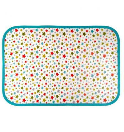 linna morata - place mat stars - light blue