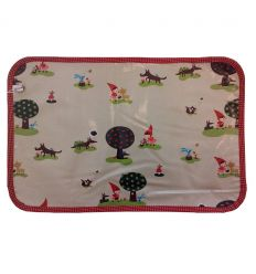 linna morata - place mat red riding hood