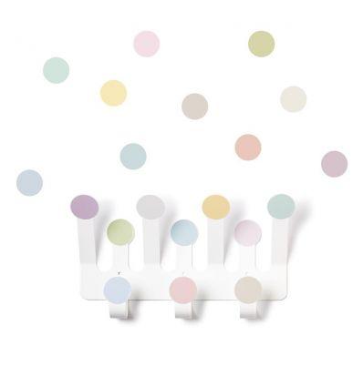 tresxics - dots hanger + 10 sticker dots (pastel)
