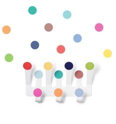 tresxics - appendiabiti pois + stickers (multicolor)
