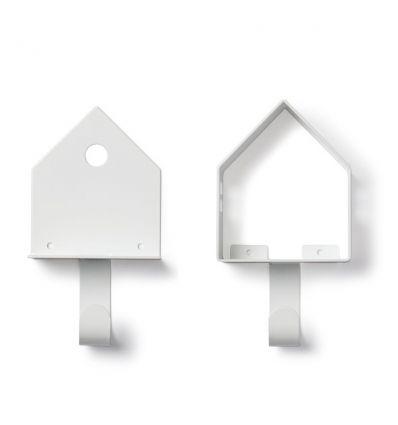 tresxics - set di 2 casette appendiabiti