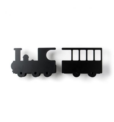 tresxics - mensole treno - nero