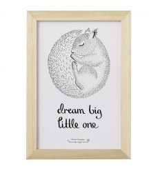 bloomingville - frame 'big dream little one'
