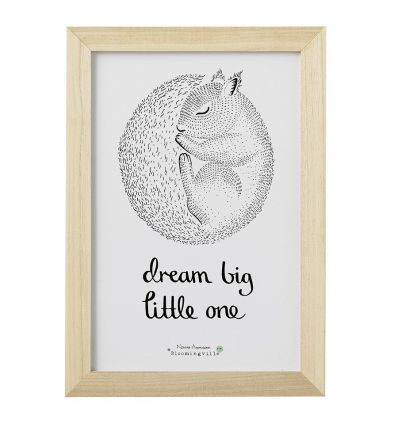bloomingville - quadro 'dream big little one'