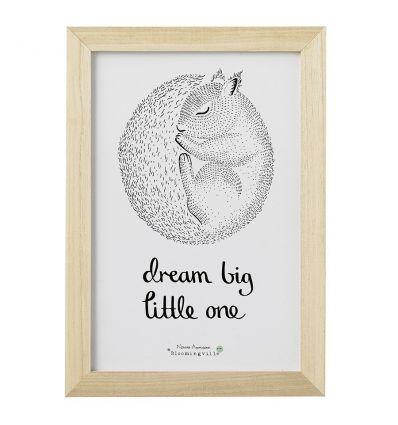 bloomingville - quadro 'dream big little one'