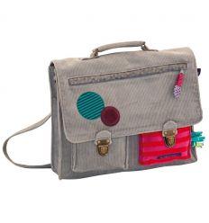 moulin roty - large schoolbag les jolis pas beaux
