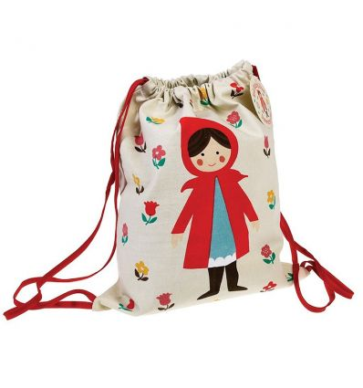 drawstring bag red riding hood
