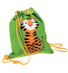 drawstring bag tiger