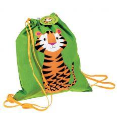 sacchetto in cotone tigre