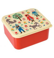 lunch box - red riding hood